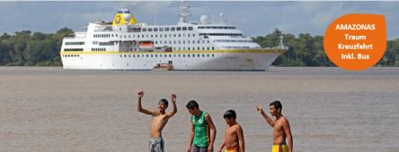 Kuba-Karibik-Amazonas-Brasilien MS HAMBURG