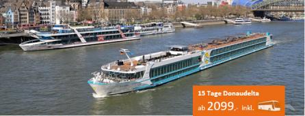 Donaudelta Kreuzfahrt MS ASARA