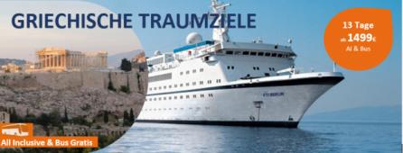 Griechische Traumziele All Inclusive MS BERLIN