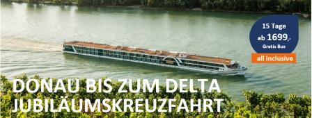 Donau bis zum Schwarzen Meer MS A-SILVER