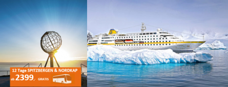 Spitzbergen & Norwegen MS HAMBURG