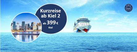 Kurzreise ab Kiel 2 AIDAbella