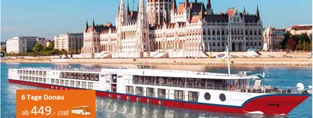 Donau Luxuskreuzfahrt MS MAXIMA