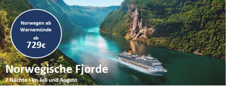 Norwegische Fjorde 2019 COSTA FAVOLOSA