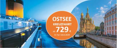 Ostsee Traumkreuzfahrt 2020 COSTA FAVOLOSA