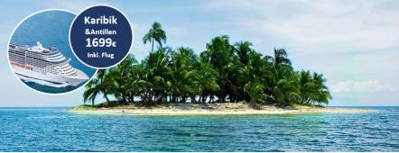 Karibik Antilen Traumkreuzfahrt MSC PREZIOSA