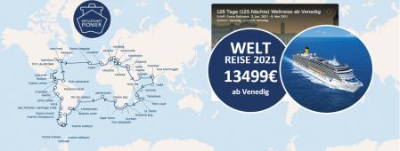 Weltreise in 112 Tagen COSTA DELIZIOSA