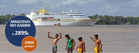 Karibik-Amazonas-Brasilien MS HAMBURG