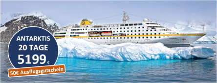 Antarktis und Südamerika MS HAMBURG