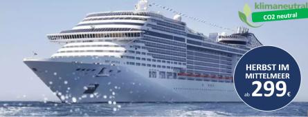 Mittelmeer zum Bestpreis MSC Divina
