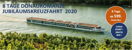 Donau Luxus Kreuzfahrt MS A-SILVER