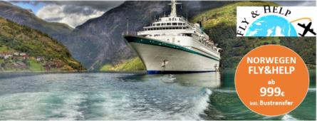 Norwegische Fjorde MS Albatros