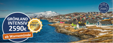 Grönland Kreuzfahrt ab Warnemünde MSC POESIA