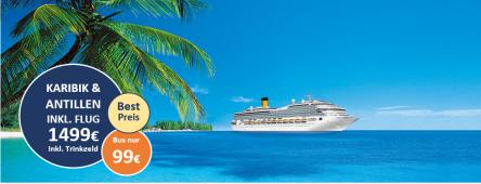 Karibik und Antillen COSTA MAGICA