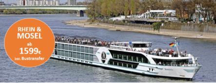 Rhein bis Amsterdam Luxuskreuzfahrt MS Annika