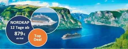 Nordkap und Norwegische Fjorde 2020 COSTA FAVOLOSA