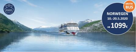 Norwegens Fjorde AIDAsol