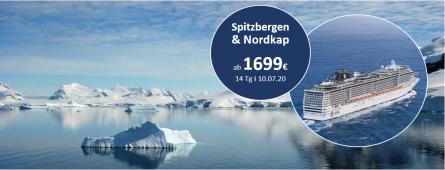 Spitzbergen und Nordkap MSC PREZIOSA