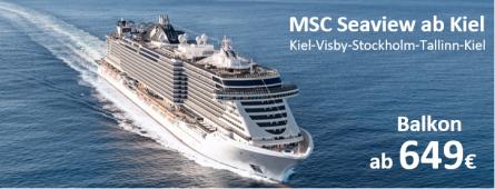 Ostsee ab Kiel 2021 MSC SEAVIEW