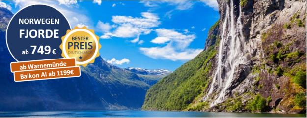 Norwegen ab Warnemünde MSC POESIA